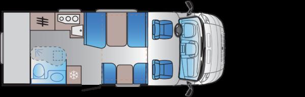 autocaravana S70DK